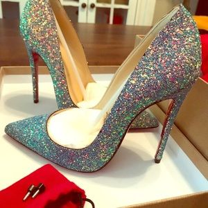 Christian Louboutin so kate sparkles size 35